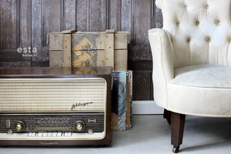 Woonkamer Vintage Bank : Vintage interieur van decokay